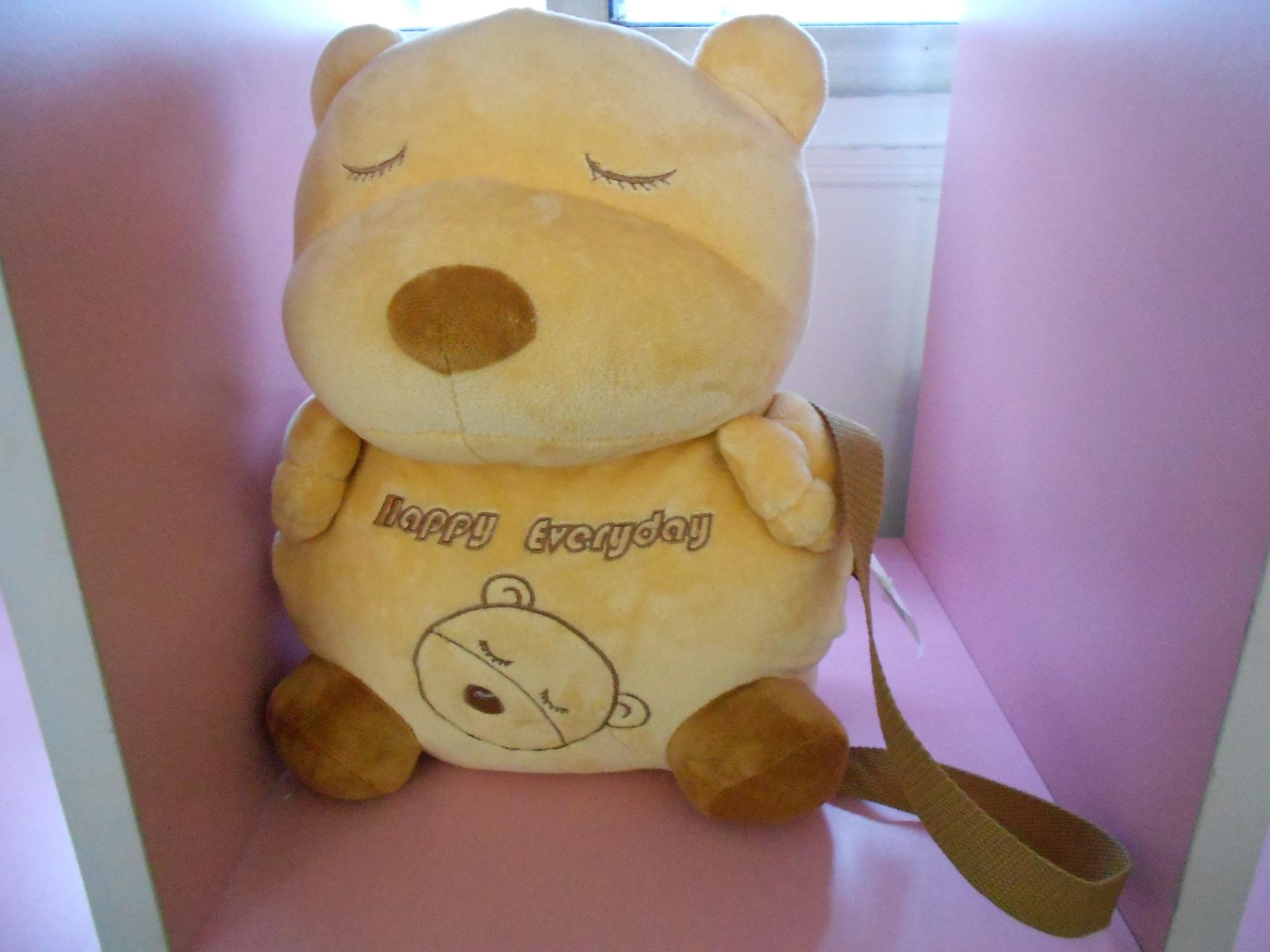 熊熊抱枕钩针图解