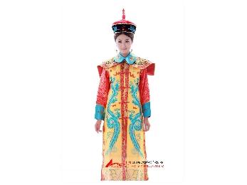 皇帝皇后 龙袍服装图片